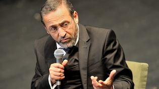 Tareq Oubrou, le grand imam de Bordeaux, à Auxerre, en mars 2015. (MAXPPP)