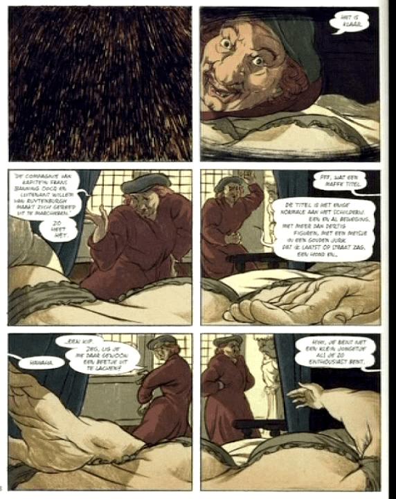 """Une planche du """"Rembrandt"""" de Typex  (France3/culturebox/capture d'écran)"""
