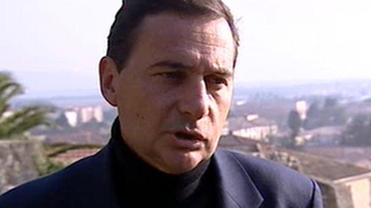 Le ministre de l'Immigration, Eric Besson. 22 février 2008. (France 3)