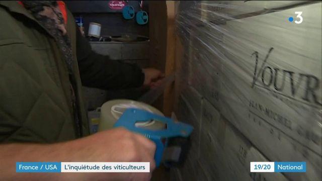 États-Unis : les taxes douanières inquiètent les viticulteurs français