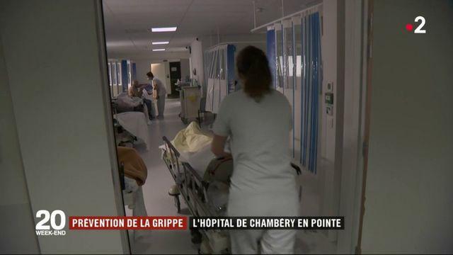 Grippe : l'hôpital de Chambéry en tension