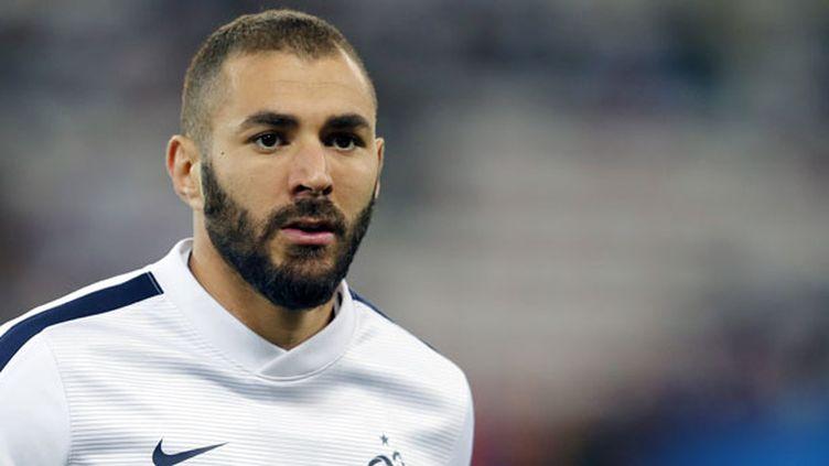 Le joueur français Karim Benzema