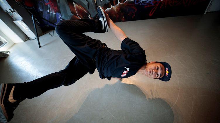 Le CIO a validé l'arrivée du breakdance au programme des JO de Paris 2024. (BEHROUZ MEHRI / AFP)