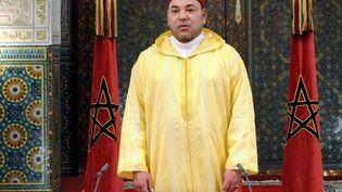 Mohammed VI, roi du Maroc, lors d'un discours pour l'anniversaire de sa montée sur le trône le 30 juillet 2013. (MOROCCAN PRESS AGENCY)