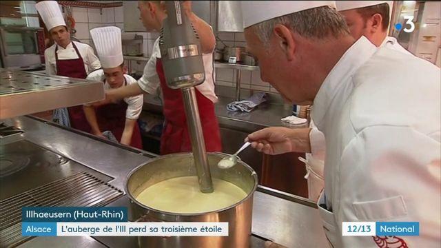 Gastronomie : l'auberge de l'Ill a perdu sa troisième étoile au Guide Michelin