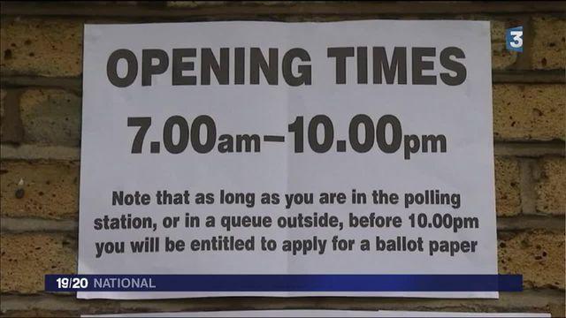 Brexit : forte affluence dans les bureaux de vote ?