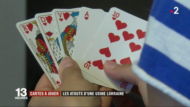 Lorraine : le succès des cartes à jouer