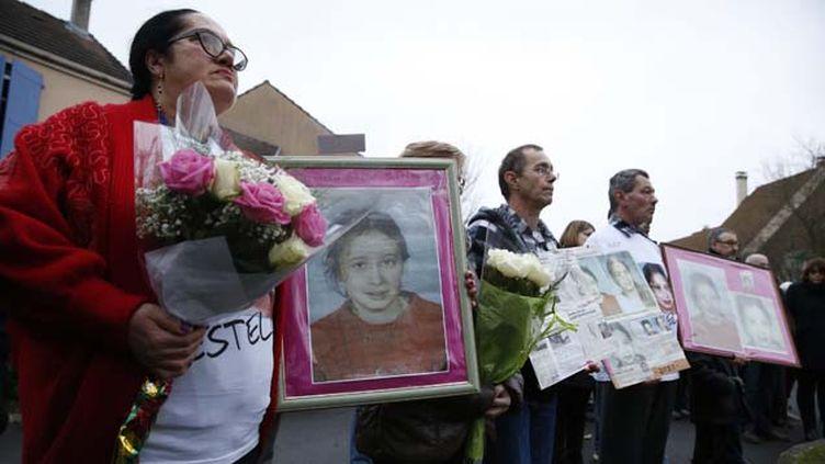 (Le 11 janvier 2014, la famille d'Estelle Mouzin avait organisé une marche à Guermantes, là où a disparu la jeune fille le 9 janvier 2003 © MaxPPP)
