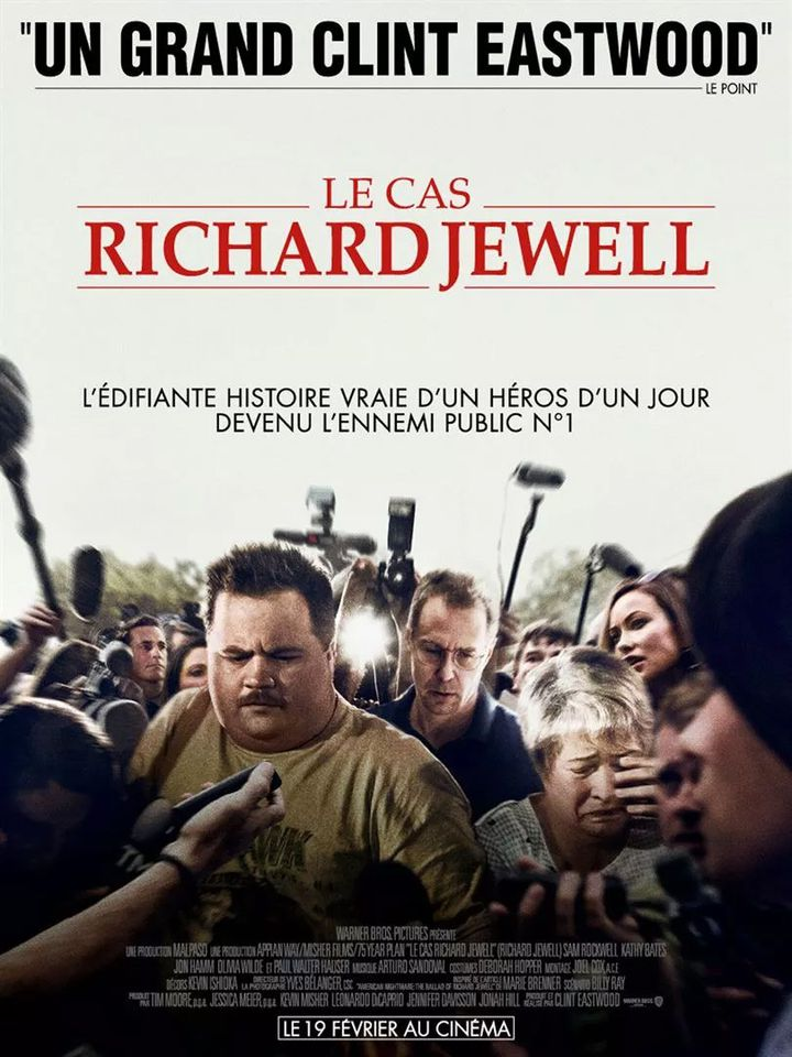 """L'affiche de """"Le Cas Richard Jewell"""" de Clint Eastwood. (Warner Bros. France)"""