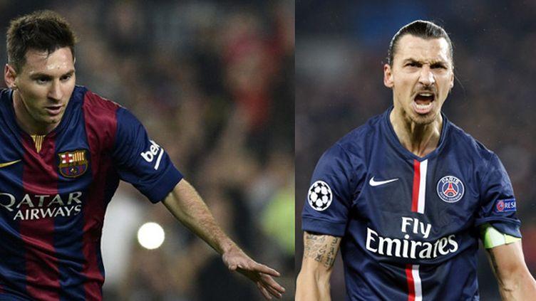 Lionel Messi (Barcelone) - Zlatan Ibrahimovic (PSG)