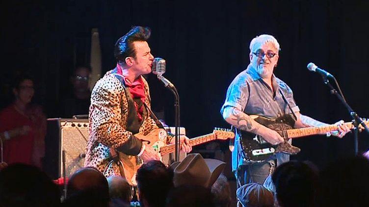 """Harry Fontana est venu des Etats-Unis pour le festival lagnolans """"Good Rockin Tonight"""".  (France 3 / Culturebox)"""