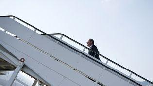 François Hollande se rendra en Allemagne et aux Etats-unis pour sa première semaine de président. (FRED DUFOUR / AFP)