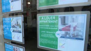 Immobilier : une baisse des loyers parisiens enregistrée en 2020 (FRANCE 2)