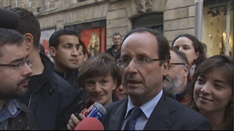 François Hollande (FranceTV)