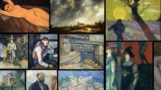 La collection d'oeuvres d'Emil Bührle. (FRANCE 2)