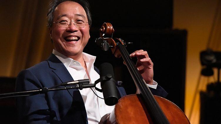 Le violoncelliste américain Yo-Yo Ma, ici en juin 2018. (LARRY FRENCH / GETTY IMAGES NORTH AMERICA)