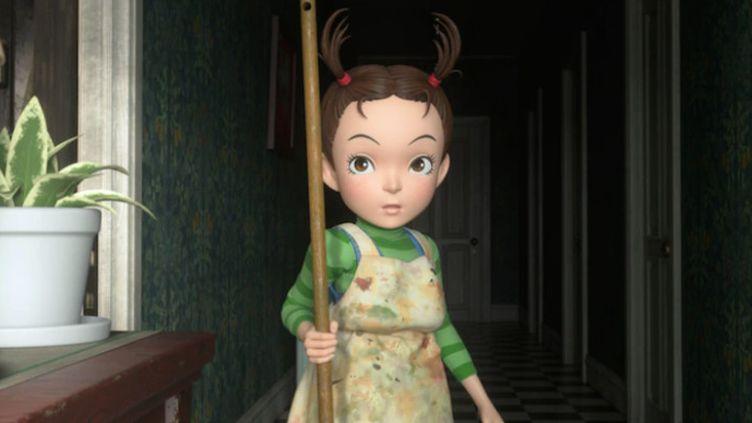 """""""Aya et la sorcière"""" a été entièrement produit en animation numérique, une première pour le studio Ghibli. (STUDIO GHIBLI)"""
