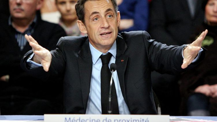 Nicolas Sarkozy (1er décembre 2010) (AFP/KENZO TRIBOUILLARD)