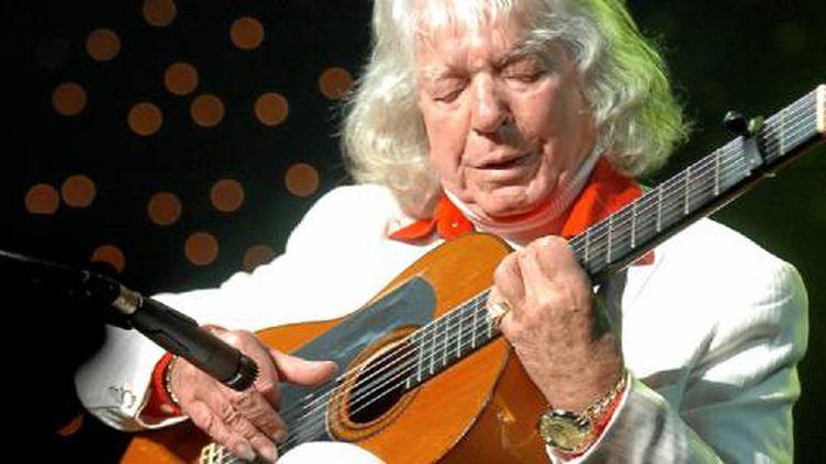 Manitas De Plata, le guitariste tzigane  (Max Berullier / Maxppp)