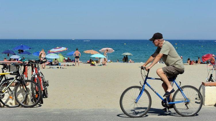 Le littoral à Saint-Cyprien, dans lesPyrénées-Orientales. (ERIC CABANIS / AFP)
