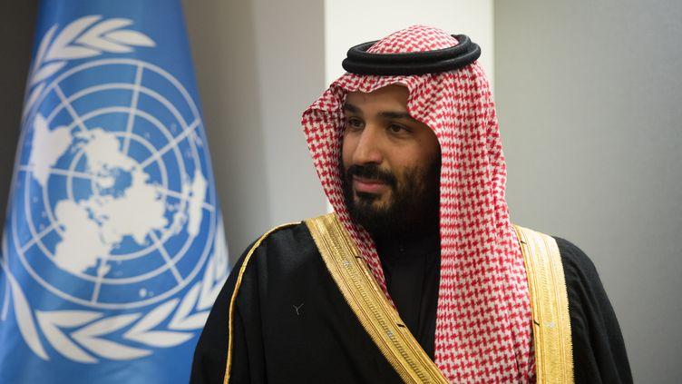 Leprince héritier d'Arabie saoudite Mohammed ben Salmane, le 27 mars 2018 à l'ONU, à New York. (BRYAN R. SMITH / AFP)
