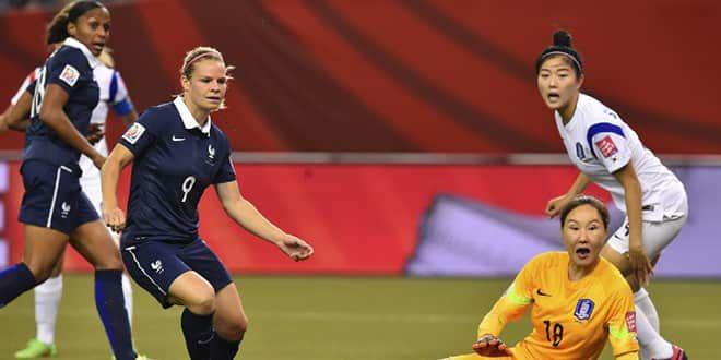 Eugénie Le Sommer et Marie-Laure Delie tournées vers le même objectif: le but et la victoire