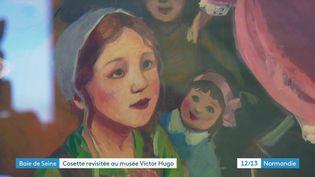 Cosette vue par l'illustrateur Olivier Desvaux (Olivier Desvaux / Musée Victor Hugo)