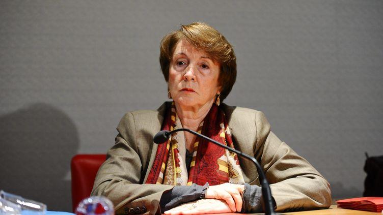 La sénatrice PS des Yvelines, Catherine Tasca, préférerait encadrer lesemplois familiaux pour les parlementaires, plutôt que les interdire. (MAXPPP)