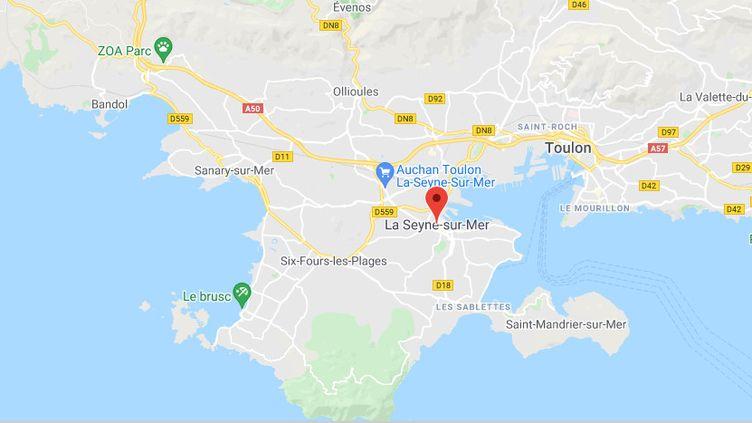 La Seyne-sur-Mer (Var). (CAPTURE D'ECRAN GOOGLE MAPS)