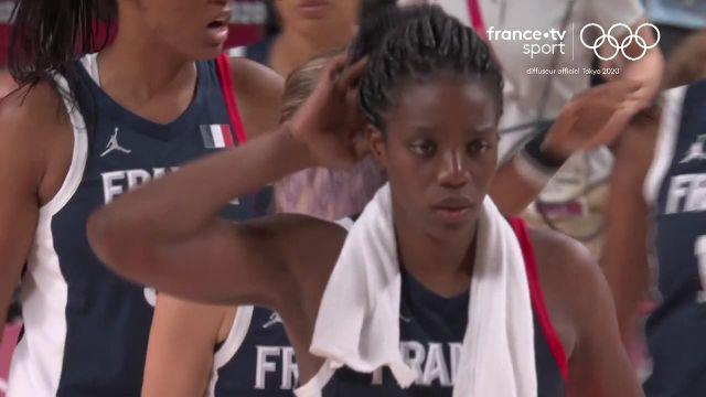 C'est terminé. Les Françaises s'inclinent face à une grande équipe du Japon (87-71) La tête est déjà tournée vers demain et le match pour le bronze contre la Serbie.