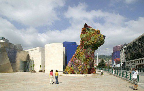 """Puppy"" par Jeff Koons  (Mark Baynes / Rex Featu/REX/SIPA)"