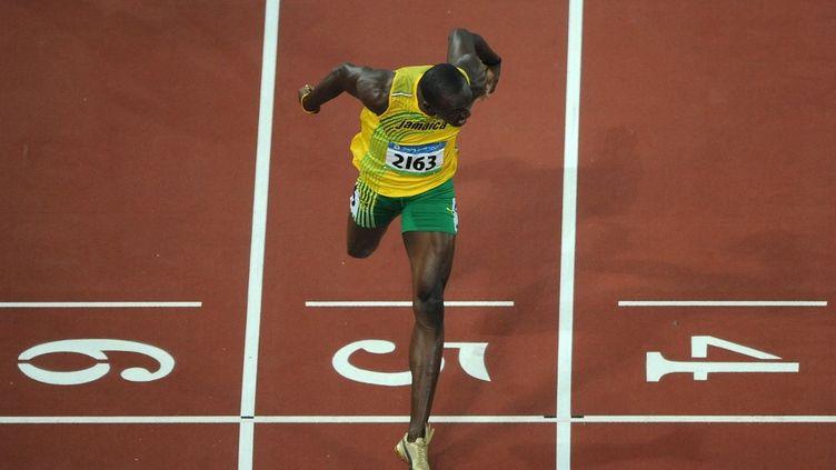 Usain Bolt a remporté huit titres de champion olympique au cours de sa carrière. (CHRISTOPHE SIMON / AFP)