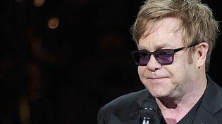 Elton John a été hospitalisé d'urgence mercredi matin, en raison d'une infection respiratoire.  (GETTY IMAGES NORTH AMERICA / AFP)