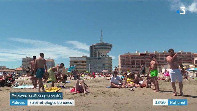 Hérault : soleil plages bondées pour le premier jour de l'été