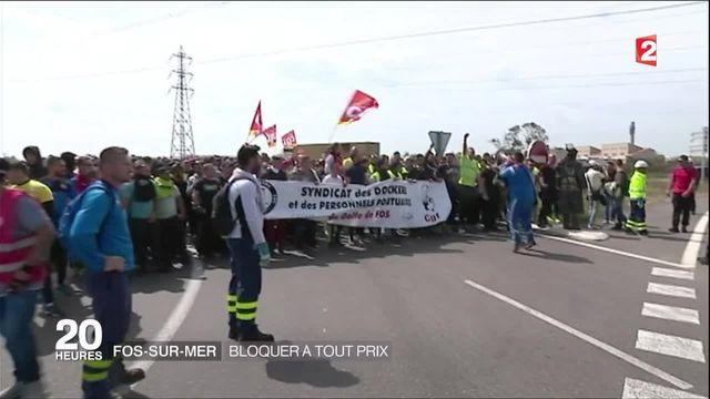 Blocages : un manifestant renversé par une voiture à Fos-sur-Mer