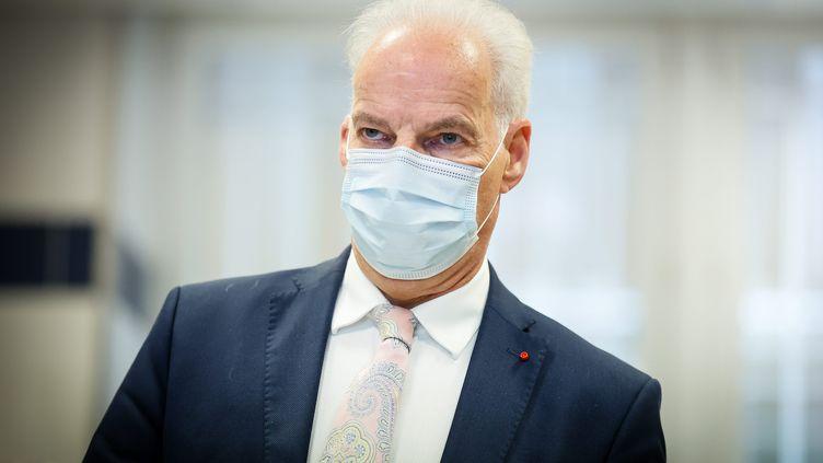 Alain Griset, le 7 juillet 2021. (THOMAS PADILLA / MAXPPP)