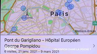 Envoyé spécial. Sommes-nous surveillés par la géolocalisation ? (ENVOYÉ SPÉCIAL  / FRANCE 2)
