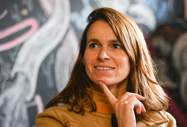 La ministre de la Culture Aurélie Filippetti  (ISA HARSIN/SIPA )