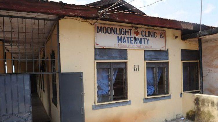 Maternité Moonlight d'Enugu, au Nigeria, une des cliniques impliquées dans le trafic des bébés. (Photo Utomi Ekpel/AFP)