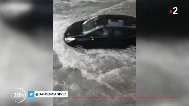 Reims : des rues du centre-ville inondées pour la troisième fois en deux semaines