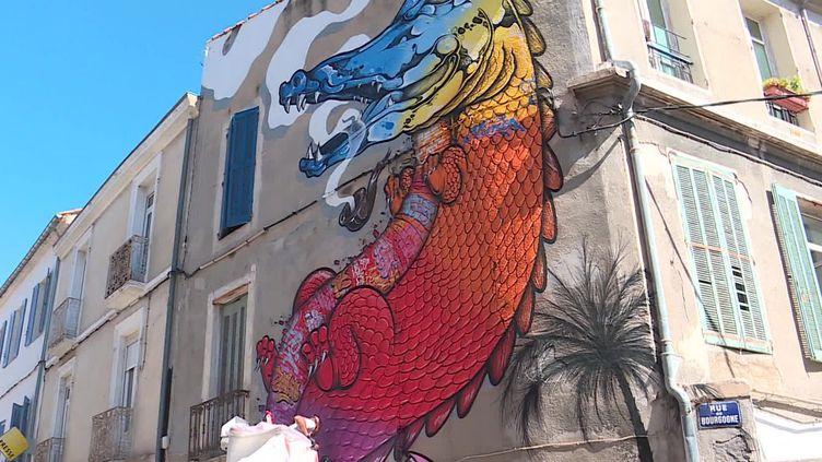 L'édition 2020 de L'expo de Ouf ! à Nîmes invite neuf artistes (France 3 Occitanie)