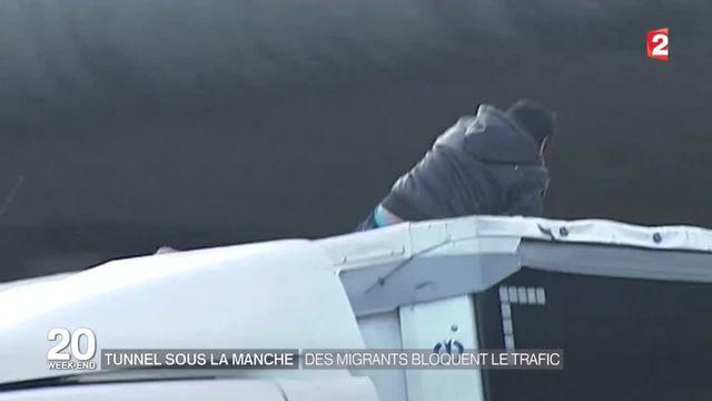 Regain de tension à Calais après le blocage de l'Eurotunnel