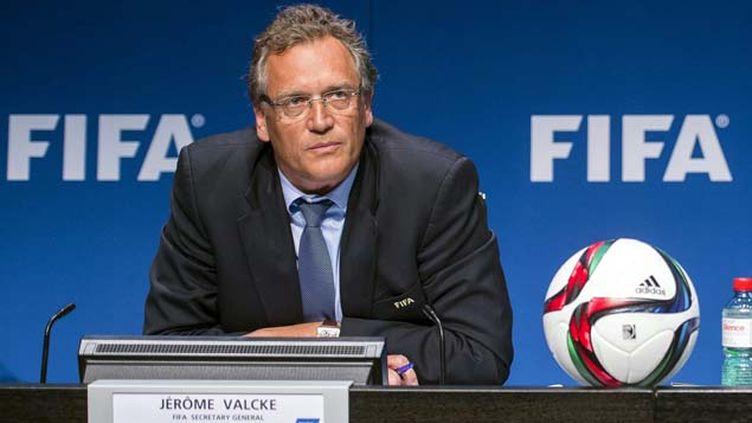 (Le secrétaire général de la Fifa Jérôme Valcke © MaxPPP)