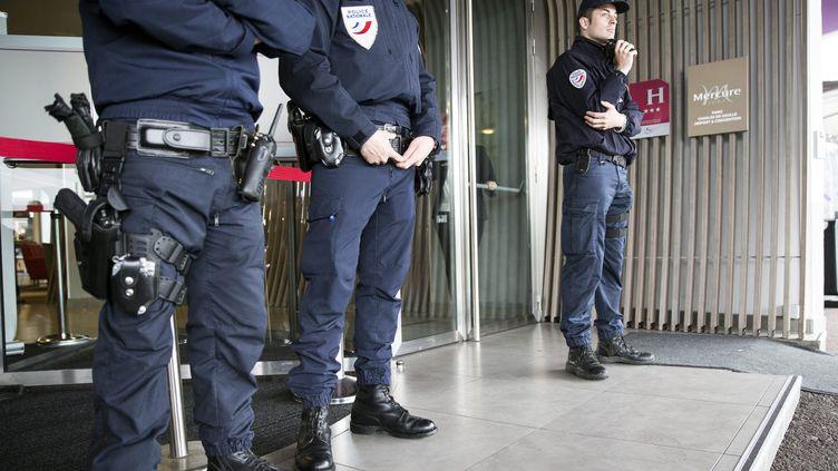 Police de l'air et des frontières à Roissy-Charles-De-Gaulle. (MAXPPP)