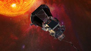 Une représentation du voyage de la sonde Parker de la Nasa vers le Soleil. (HO / NASA)