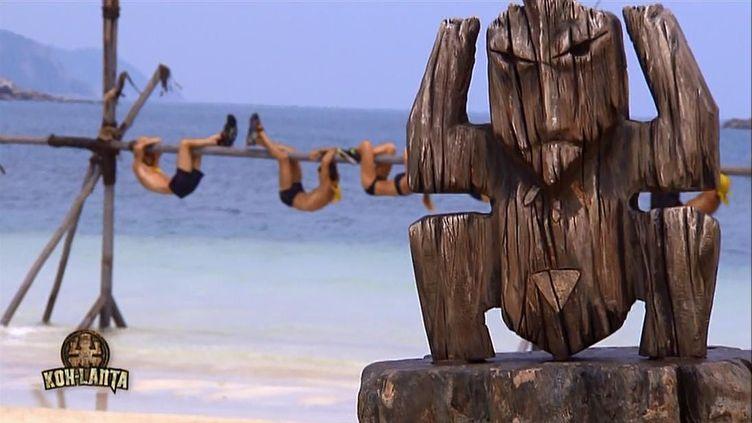 """Le totem de l'émission """"Koh-Lanta"""". (ALP / TF1)"""