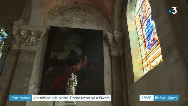 Tableau Notre-Dame de Paris Givors