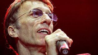 Robin Gibb en concert à Mannheim (Allemagne) le 13 octobre 2007  (Ronald Wittek / AFP)