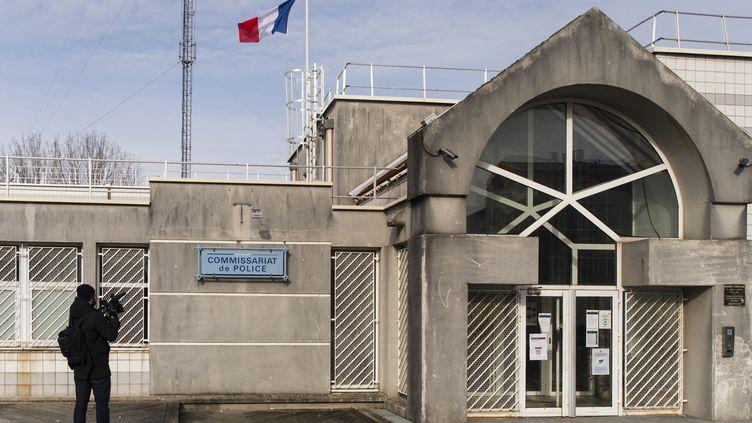 Commissariat de police de Trappes dans les Yvelines. (VINCENT ISORE / MAXPPP)