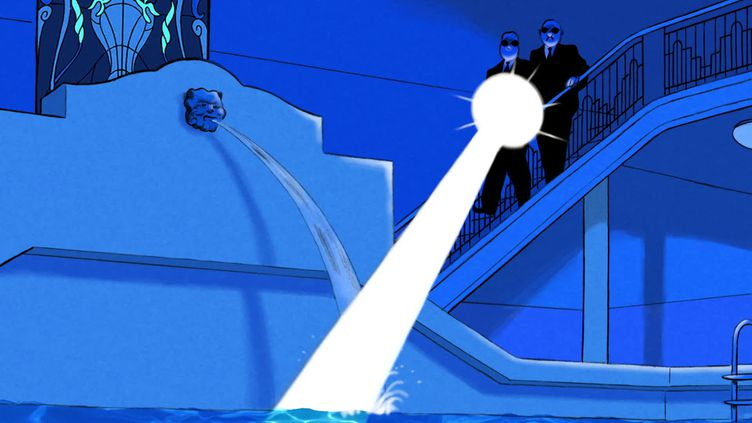 """Une vignette du nouvel album de Spirou """"Pacific Palace"""". (FRANCEINFO)"""